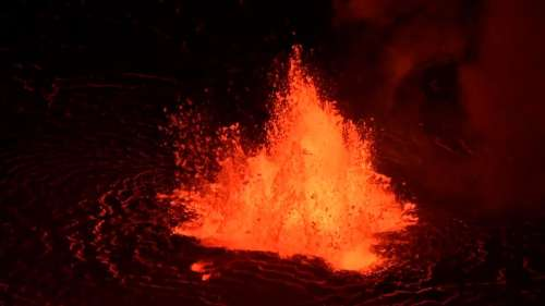 Watch: One of the most active volcanoes on Earth begins erupting in Hawaii