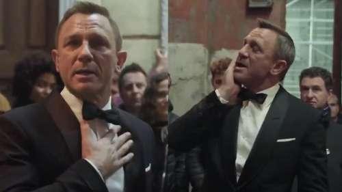 Watch: Daniel Craig gets emotional as he bids farewell to James Bond role