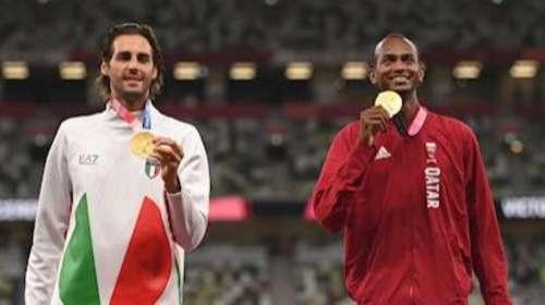 Tokyo Olympic: हाईजंप इवेंट में 'खेल भावना' ने लगाई छलांग, दो एथलीट को मिला गोल्ड मेडल