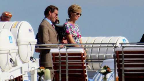 New photos from 'The Crown' Season 5 out: Elizabeth Debicki & Dominic West recreate 1991 Italy trip