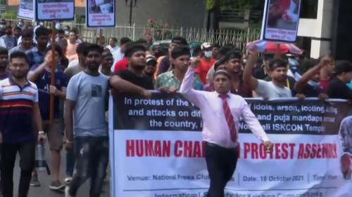 Hindus attacked in Bangladesh, protests held to denounce violence