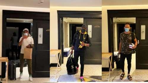 IPL 2021: CSK Stars Faf Du Plessis, Dwayne Bravo & Imran Tahir Arrive In UAE