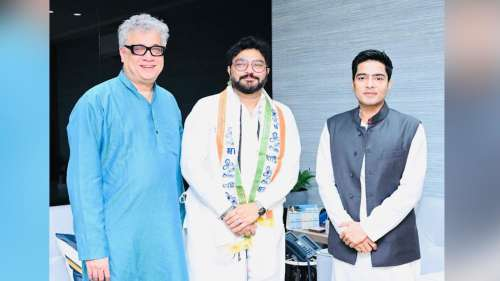 Former BJP leader Babul Supriyo joins TMC after 'quitting' active politics
