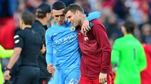 Premier League: Manchester City come back twice to hold Liverpool to a draw