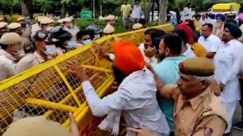 Sukhbir Badal, Harsimrat detained during 'Black Friday' protest over farm laws
