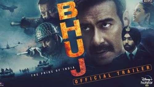 Bhuj Trailer: पर्दे पर दिखी स्क्वॉड्रन लीडर विजय कार्णिक की झलक