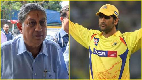 No CSK without Dhoni, no Dhoni without CSK confirms N Srinivasan after 4th IPL title