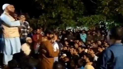Watch: Thousands attend funeral of J&K cop killed by terrorists