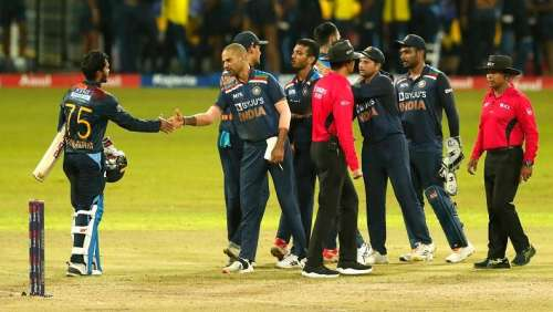 Sri Lanka edge past a Covid-battered India to win the 2nd T20