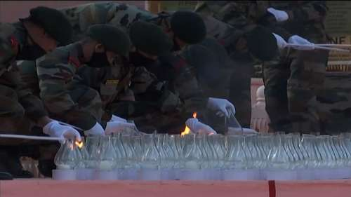 Kargil Vijay Diwas: India honours heroes of 'Operation Vijay', 559 lamps lit in Ladakh