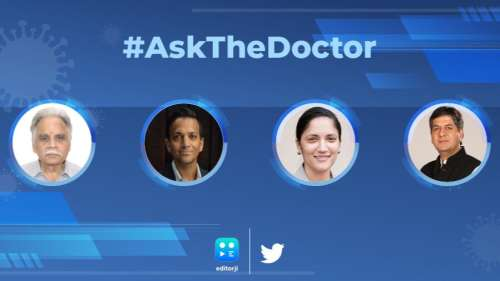 Ask The Doctor   In conversation with Dr M Vidyasagar, Dr Vinay Gupta & Dr Kavita Patel