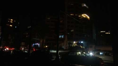 Beirut in the dark