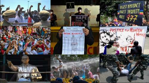 India@75: Protests that shaped & shook the nation