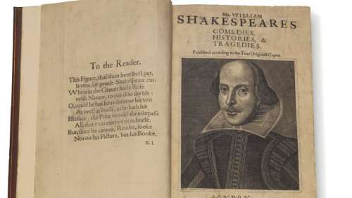 The first collection of plays by Shakespeare sells for nearly $10mn