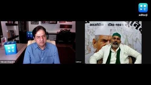 Rakesh Tikait की editorji से Exclusive बात, 26 जनवरी से UP चुनाव तक का बताया Plan