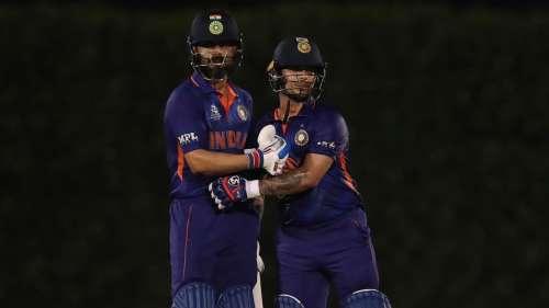T20 World Cup 2021: Ishan Kishan & KL Rahul demolish England in warm-up game, watch full highlights