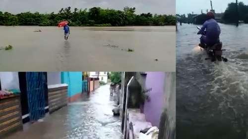 West Midnapur Flood: নাগাড়ে বৃষ্টি, জলে ডুবেছে পশ্চিম মেদিনীপুরের  বেলদা, নারায়ণগড়, সবং, ডেবরা