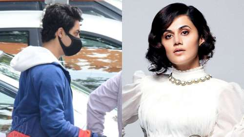 Taapsee Pannu reacts