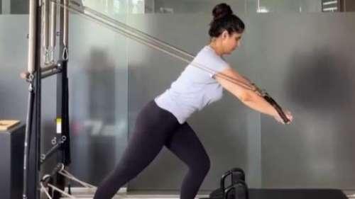 ज़रीन खान अच्छी फिटनेस के लिए जिम में यूं करती हैं टफ वर्कआउट