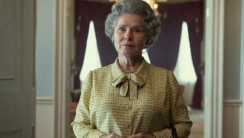 'The Crown' shares first look of Imelda Staunton as Queen Elizabeth II, see pic