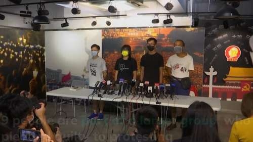 Activists and former lawmakers in Hong Kong sentenced to jail for partaking in banned vigil