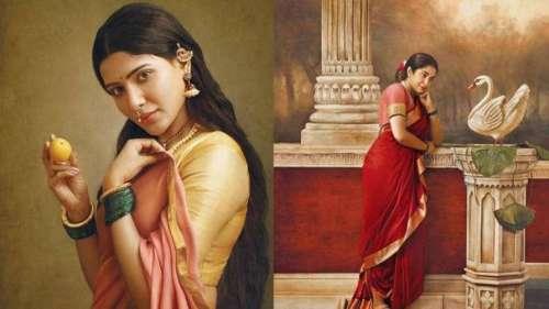 Photographer recreates Raja Ravi Varma's paintings in real life
