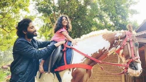 Allu Arjun's daughter Arhato make her film debut with Samantha Akkineni,he calls it a proud moment
