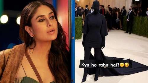 Kareena Kapoor Khan reacts to Kim Kardashian's Met Gala outfit, 'Ye kya ho raha hai?'