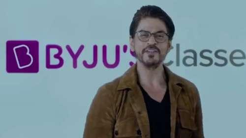 Byju's pulls ads featuring Shah Rukh Khan amid Aryan Khan's drug case