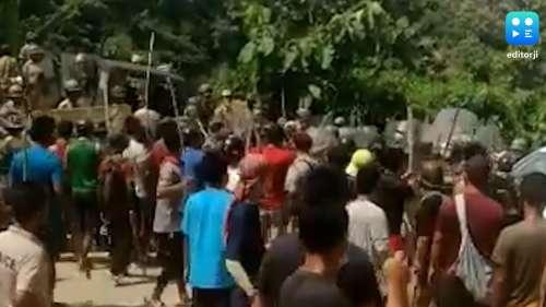 Assam-Mizoram सीमा पर खूनी संघर्ष, असम CM बोले- जवानों की मौत के बाद 'गुंडों' ने मनाया जश्न