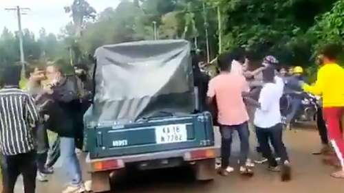 On Camera: renowned environmentalist DV Girish assaulted by drunk youth