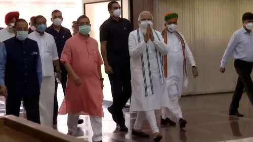 'Congress stalling Parliament, expose them': PM Modi tells BJP MPs