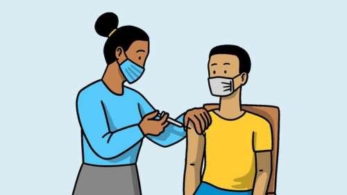 वैक्सीन गैप कितना हो?