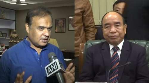 War of words between Assam & Mizoram CMs over border clashes