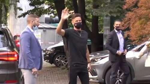 French footballer Olivier Giroud joins AC Milan