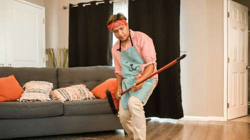 Men need to step up their game when it comes to housework. We'll tell you why