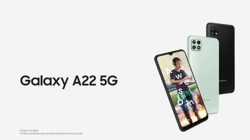 Samsung Galaxy A22 5G variant launched in India: specs, price & features