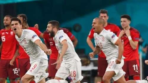 EURO 2020: स्पेन ने पेनल्टी शूटआउट में तोड़ा स्विट्जरलैंड का दिल, गोलकीपर रहे जीत के हीरो