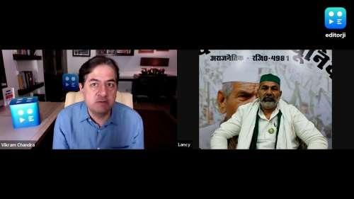 editorji से बोले Rakesh Tikait- यूपी चुनाव में बड़ा मुद्दा रहेगा किसान आंदोलन