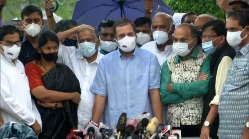 Opposition Meet: बैठक में जुटे अन्य दलों का भी सरकार पर वार, पेगासस प्रकरण को बताया 'अलोकतांत्रिक'