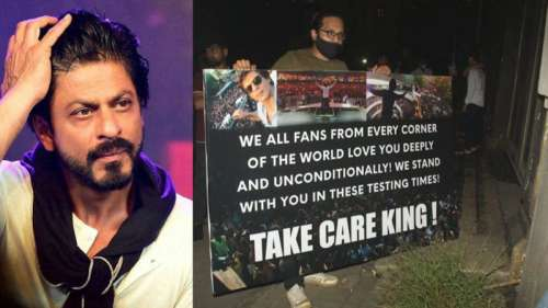 Mumbai drugs on cruise case: Shah Rukh fans gather outside Mannat, say 'we stand by you'