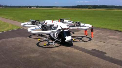 Watch: Airbus' new urban mobility copter takes to the skies