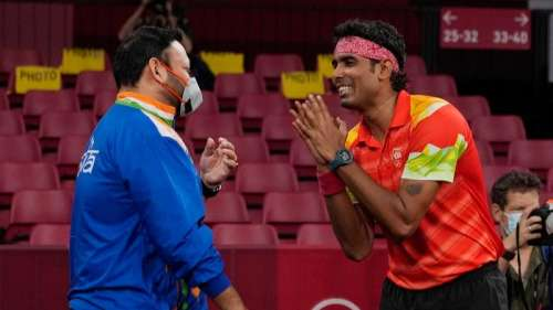 Tokyo Olympics 2020: Sharath Kamal goes down fighting to reigning champion Ma Long
