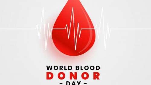 World Blood Donor Day 2021: जानिये क्या है इस साल की थीम
