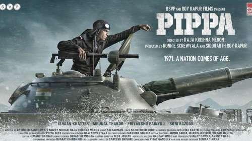 'Pippa' first look: presenting Ishaan Khatter as Brigadier Balram Singh Mehta