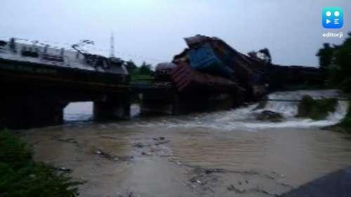 Odisha: पटरी से उतरी मालगाड़ी, नदी में गिरे 6 डिब्बे, कई ट्रेनें रद्द
