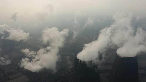 Global carbon emissions drop