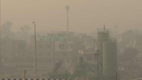 दिल्ली NCRमें सांस लेना हुआ खतरनाक,AQIलगातार 300 के पार