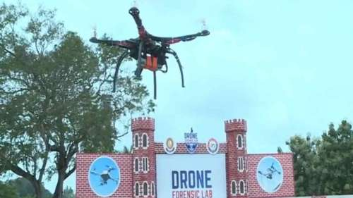 India's drone forensic lab