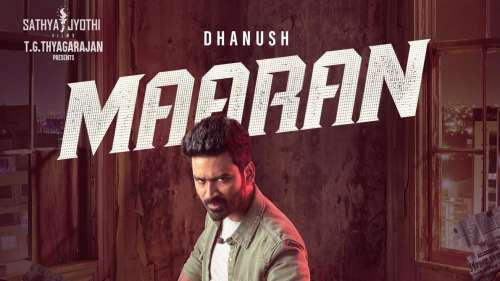 On Dhanush's38th birthday, first look of action-thriller Maaran' released!